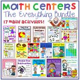 Math Centers Bundle--A Set of 17 Math Activities