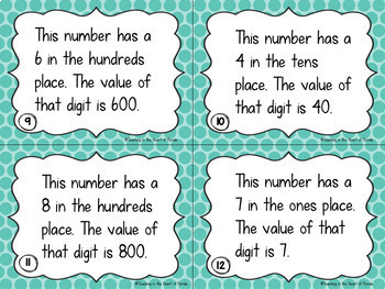 Math Centers Bundle - Place Value, Rounding, Addition & Subtraction