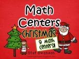 Math Centers {Christmas} Common Core