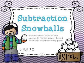 Math Centers {Common Core Aligned}...Winter Wonderland