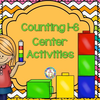 Math Centers ~ Counting 1-6
