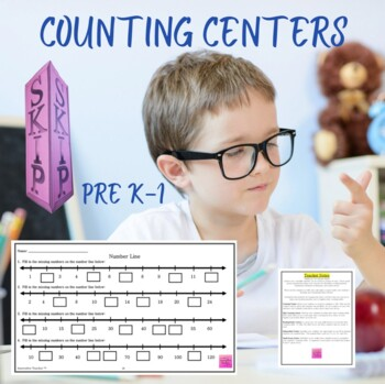 Math Centers Counting - CCSS