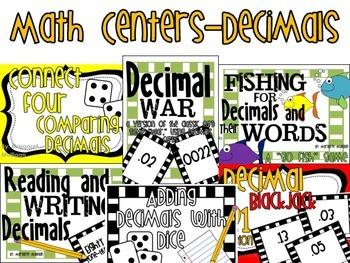 Math Centers - Decimals