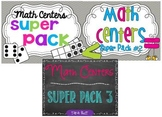 Math Centers Deluxe Bundle
