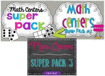 Math Centers Deluxe Bundle