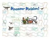Math Centers: Dinosaur Division with Remainders Math Station