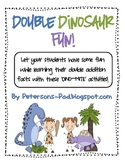 Math Centers: Doubles Dinosaur Fun Packet
