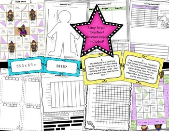 Math Centers - Entire Year - Upper Elementary