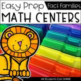 Math Centers {Fact Families}