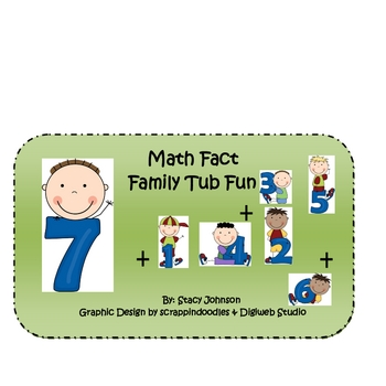 Math Centers: Fact Family Game
