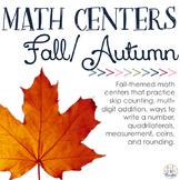 Math Centers: Fall/Autumn