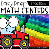 Math Centers {Fractions}