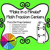 Math Centers: Fractions