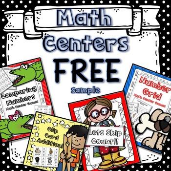 Math Centers Free