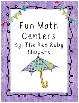 Math Centers - Fun with Numbers