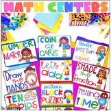 Math Centers  *GROWING BUNDLE*