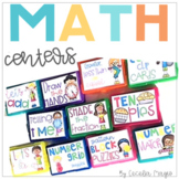 Math Centers  *GROWING BUNDLE*