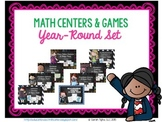 Math Centers & Games Pack Year-Round Set