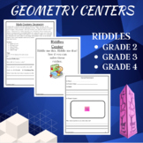 Math Centers Geometry - CCSS
