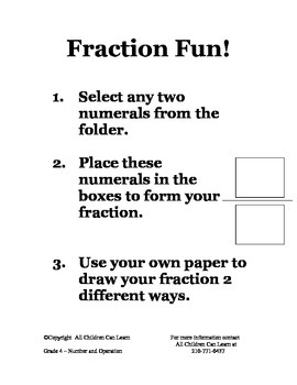 Math Centers Grade 4 Number and Operation