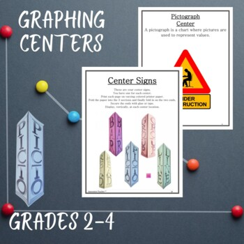 Math Centers Graphing - CCSS