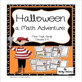 Math Halloween Work Station Task Cards