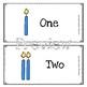 Math Centers Hanukkah Candles Tally Marks Lapbook