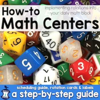 Math Centers How-To: A Step-by-Step Guide to Implementing Centers during Math