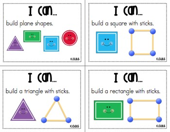 "Math Centers ""I Can"" Task Cards {Common Core Aligned}"