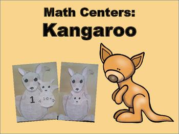 Around the World: Kindergarten Math Centers: Kangaroo Math