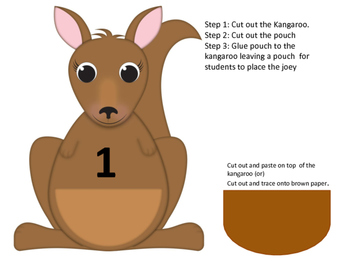 Around the World: Kindergarten Math Centers: Kangaroo Math