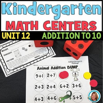 Addition to 10 Worksheets and Activities | Kindergarten Math ...