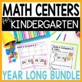 Math Centers Kindergarten Digital & Printable GROWING BUNDLE