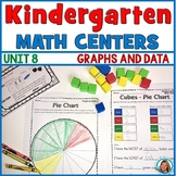 Math Centers Kindergarten | Graphs and Data