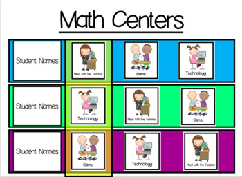 Math Centers Made Easy!