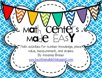 Math Centers Made Easy
