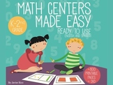 Math Centers Made Easy. DELUXE EDITION Printable and DVD DUAL K-2 +800 pag
