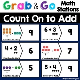 Math Centers  |  Math Stations  |  First Grade | Count On to Add