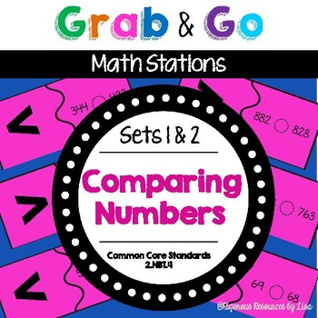 Math Centers  |  Math Stations  |  Second Grade