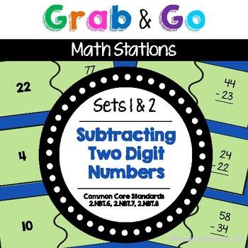 Math Centers  |  Math Stations  |  Second Grade