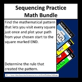 Math Sequencing Practice:  Math Trails Bundle