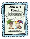 Math Centers: Math is a Beach!