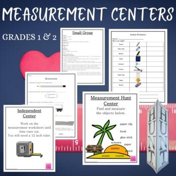 Math Centers Measurement - CCSS