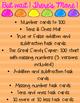 Math Centers Mega Bundle - The Candy Shop