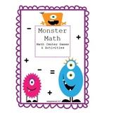 Math Centers - Monster Math