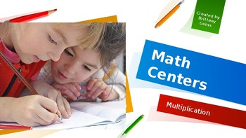 Math Centers: Multiplication