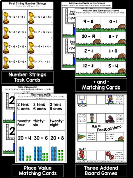 Math Centers November