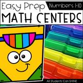 Math Centers {Number Sense 1-10}