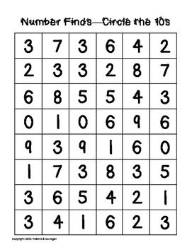 Math Centers - Number Sense