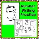 Number Tracing Handwriting Practice